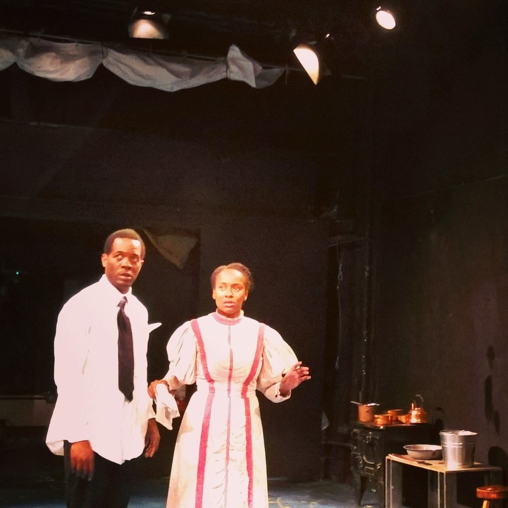 Reginald L. Wilson and Eboni Flowers in Miss Julie