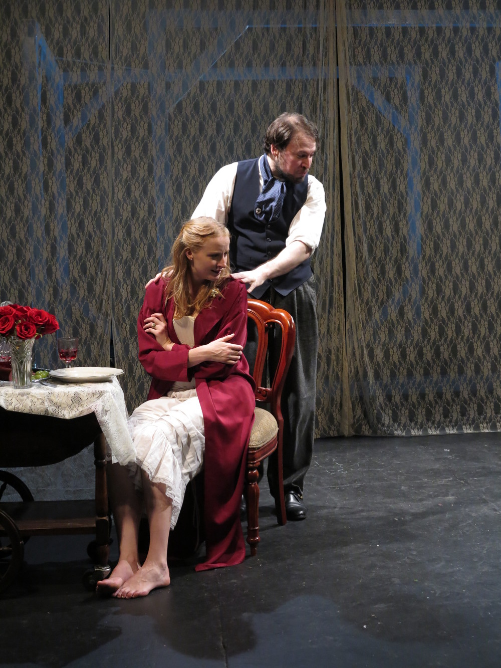 Kersti Bryan and Eric Percival in Mr. Bengt's Wife