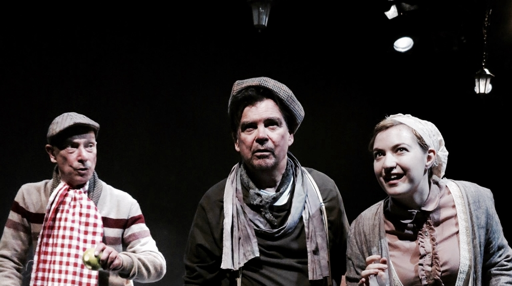 Michael Donaldson, Mark Solari and Madeleine Saidenberg in  Burnt House