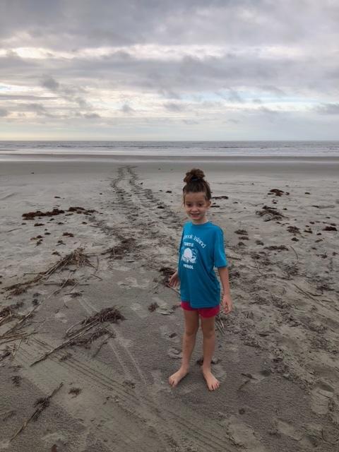 Neva Carter finds her first crawl