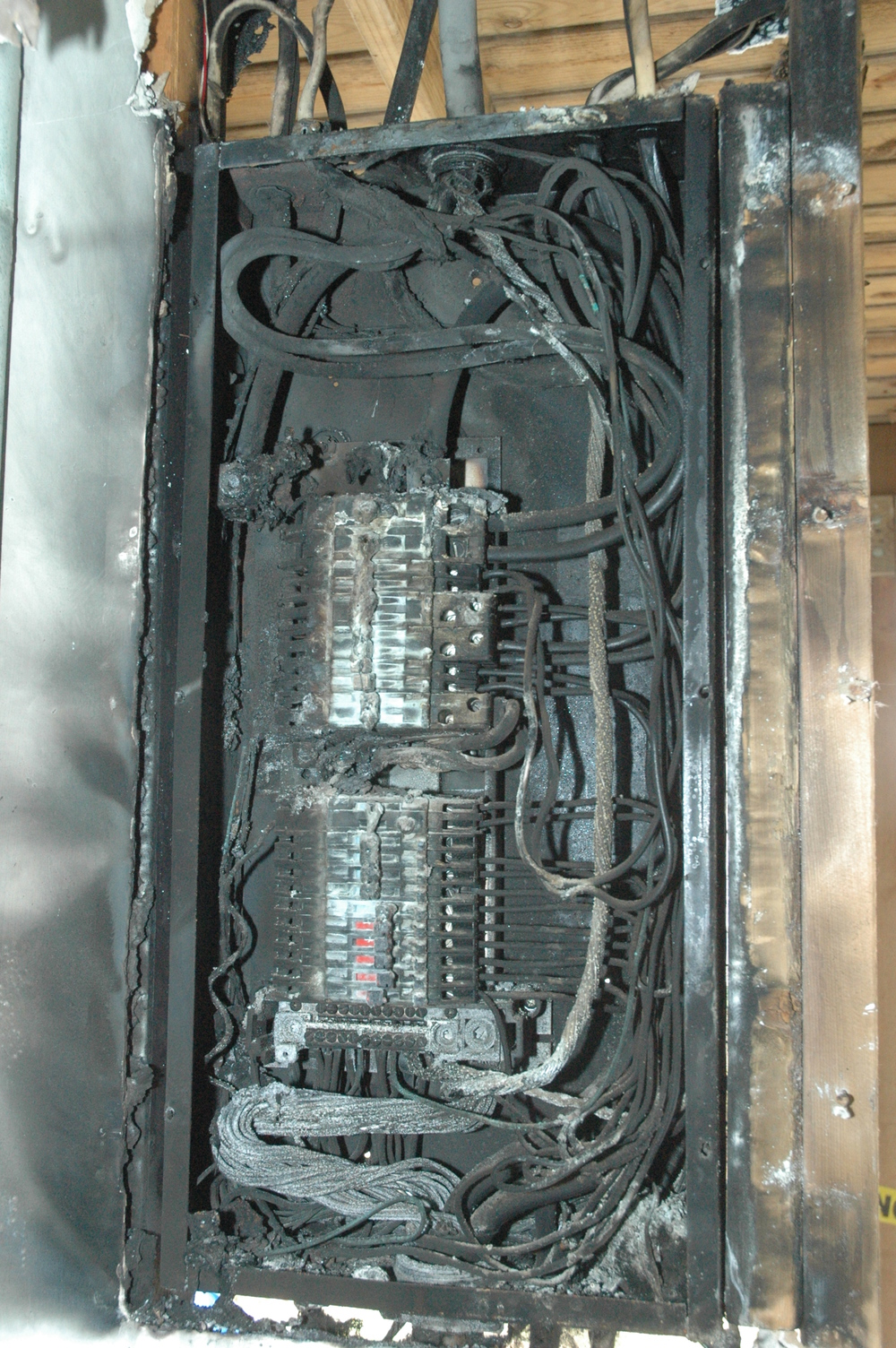 Electrical Panel Fire