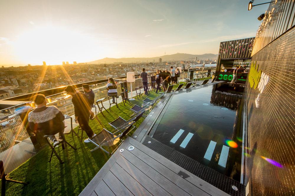 Barcelo Raval 360 Terrace