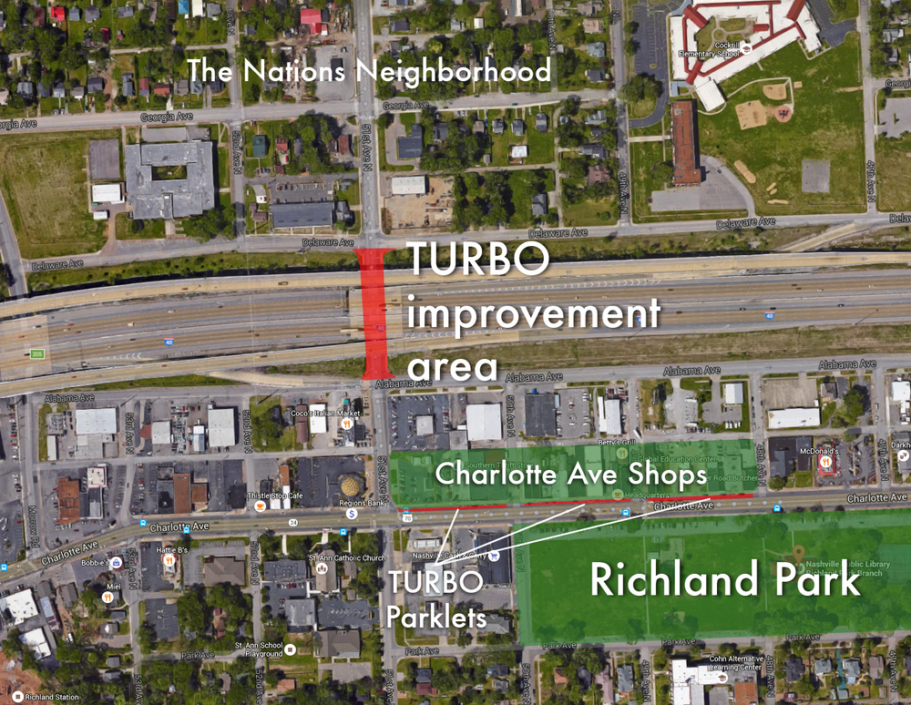 Tactical Urbanism Plan for Richland Park Market Festival