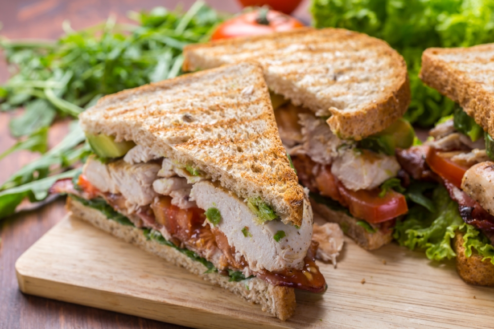 - California Chicken Club Sandwich