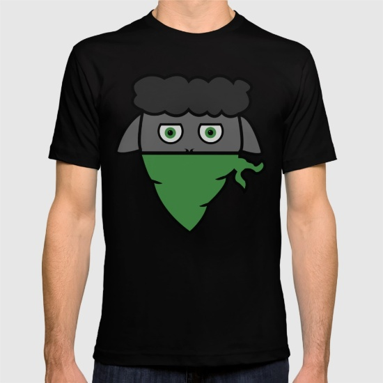 Classic Black Sheep T-shirt - Men's fitted t-shirt design24.00