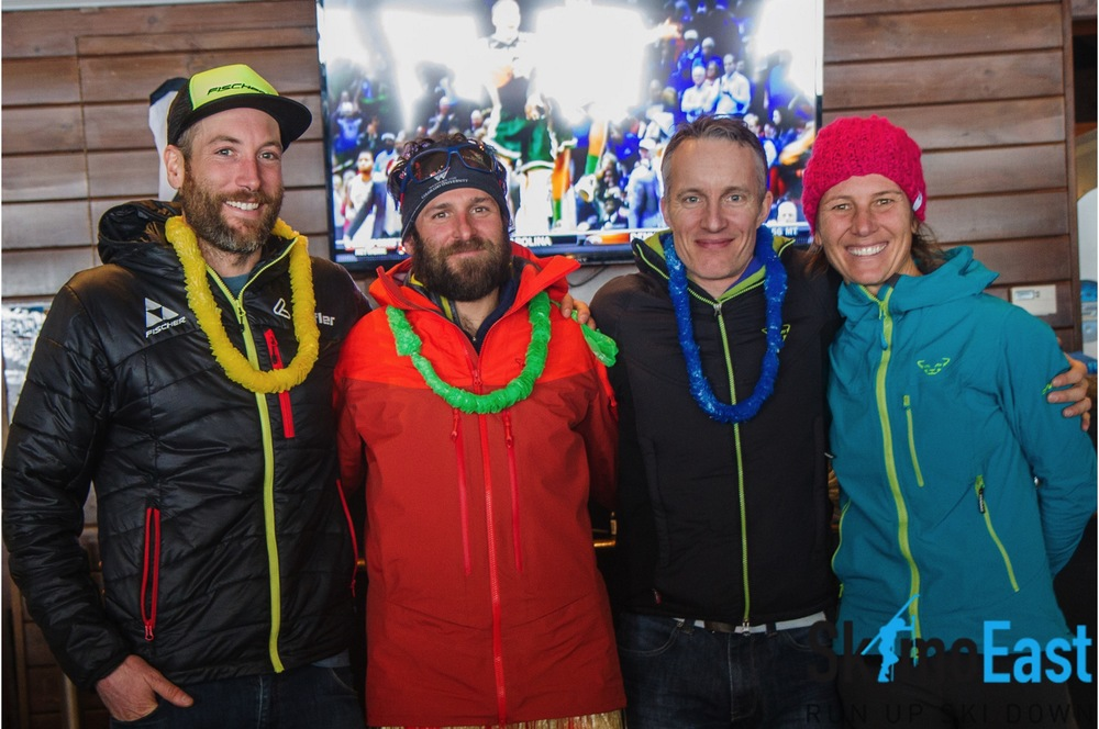 Sharing the podium with some very talented atheletes. p: David Moore