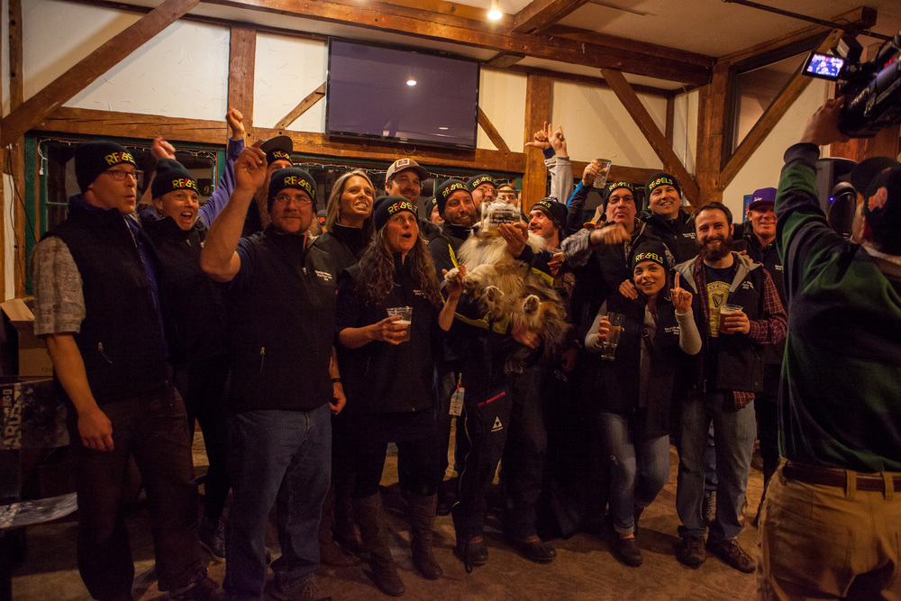 Re/Max Re/Bels win the 2016 Mountain Meisters Team Award.