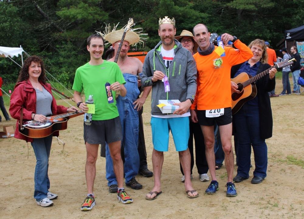 Bear Brook Trail Marathon Podium 2016.