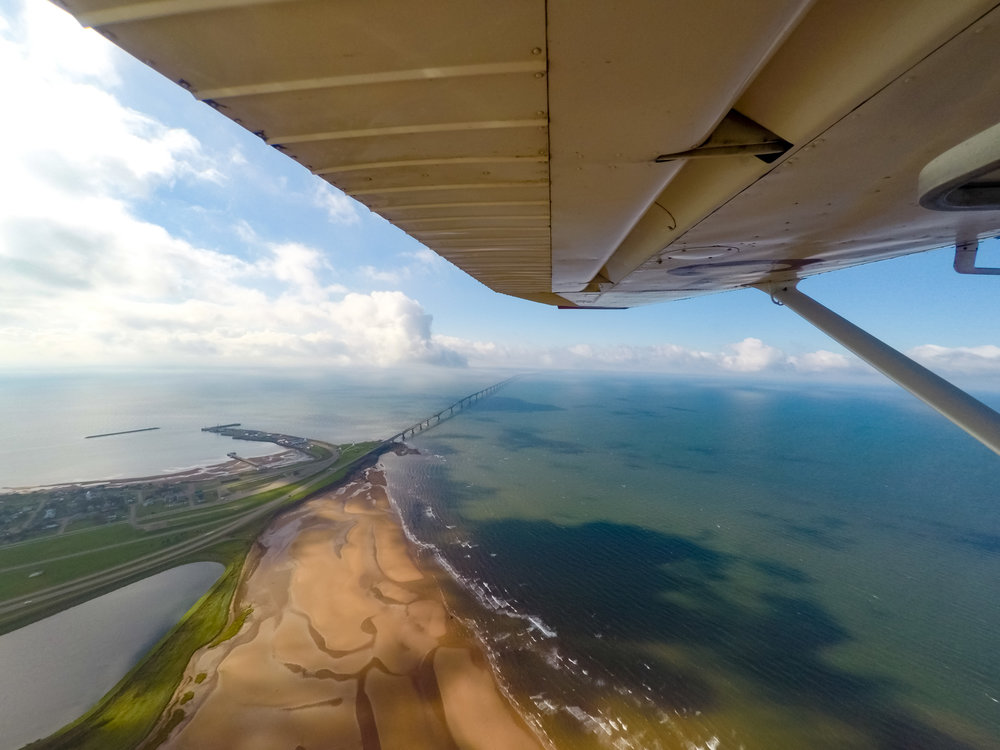 Prince Edward Island Flyover, Confederation Bridge