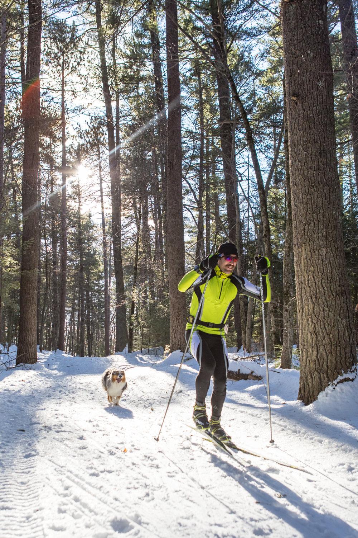 Andrew Drummond - Nordic Skiing Whitaker Woods