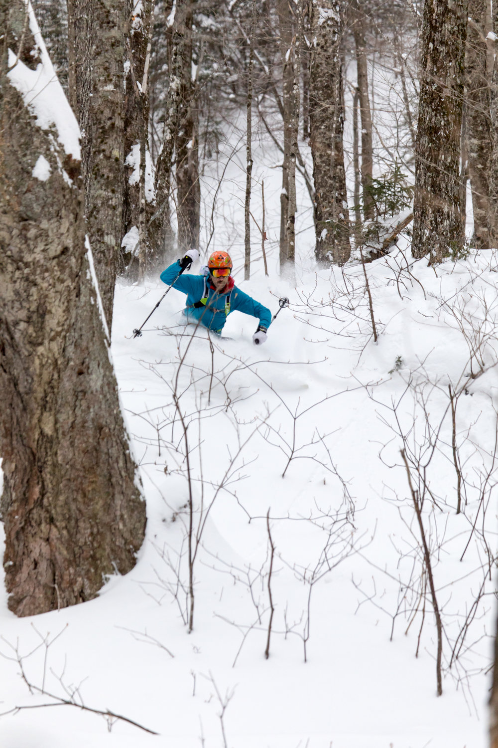 Andrew Drummond - Skiing Little Wildcat Glades