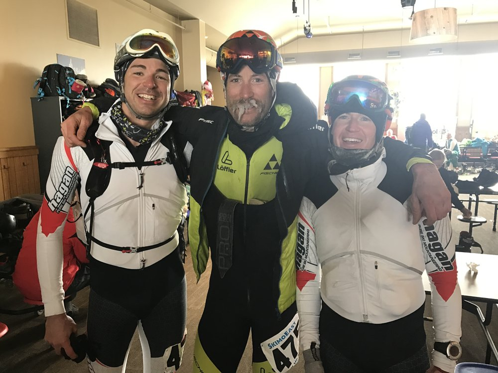 Team USA - Brian MacIlvain, Andrew Drummond, Jerimy Arnold