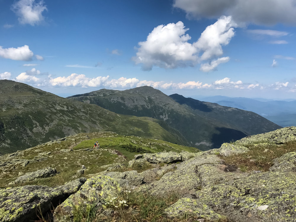 White Mountains - Presidential Traverse Clay Running.jpg