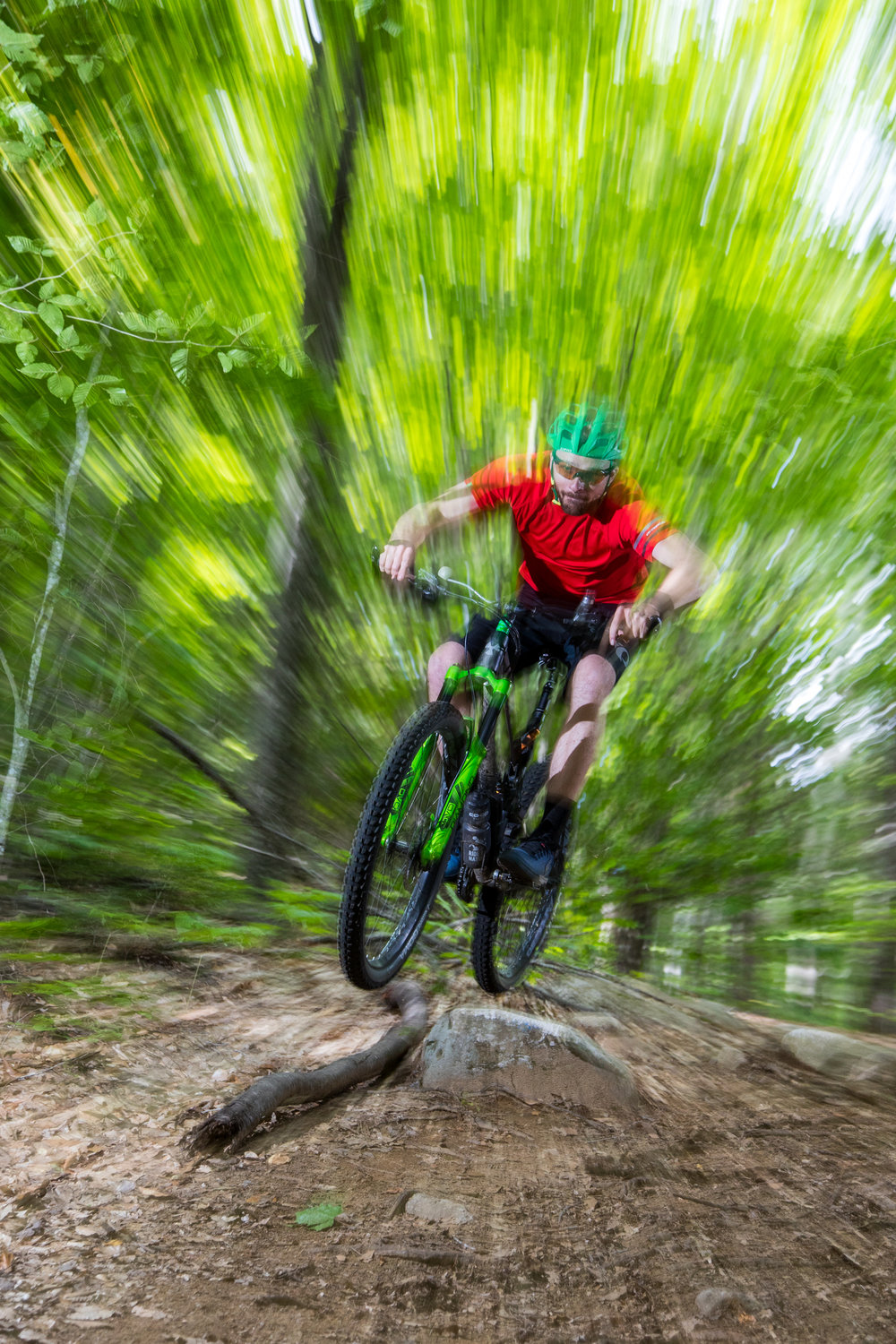 CJ Congrove Mountain Bike Mary's Mountain Madison NH Descent.jpg