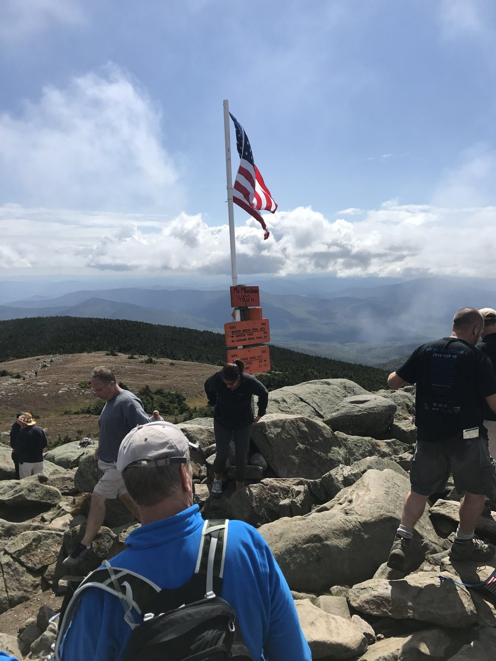 Chad Denning Memorial Run Moosilauke Summit.JPG