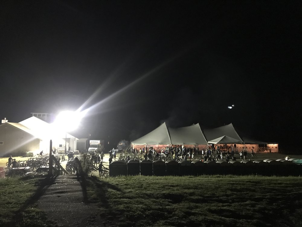 Vermont 50 Tent.JPG