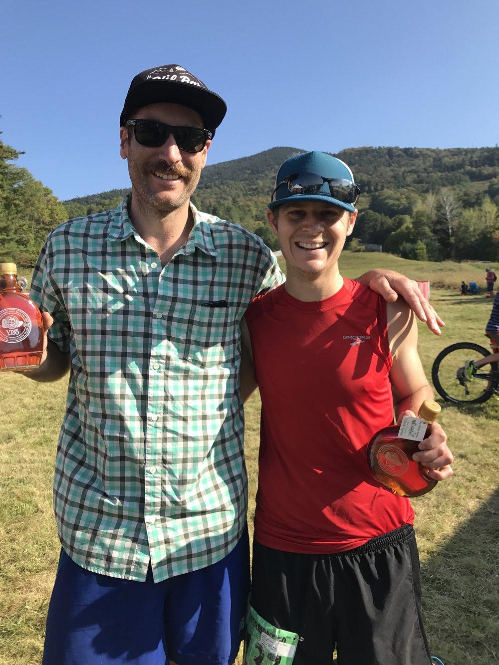 Vermont 50 Andrew Drummond Ben Bruno Maple Syrup.JPG