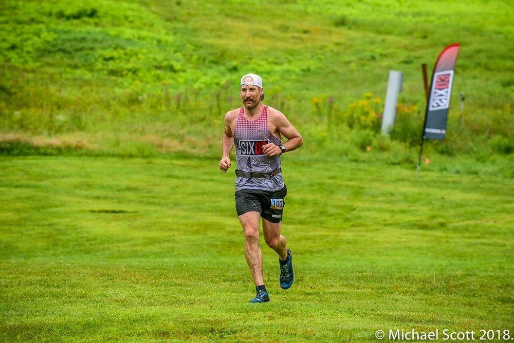 Approaching the Ragged 50k finish. P:  Michael Scott