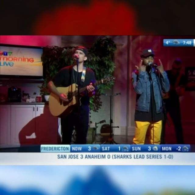 Thank you for having me @ctvmorninglive @ctvmorningliveatlantic 🙏🏾 _______________________________________________________W I N T E R  I N  S T  L U C I A  AVAILABLE EVERYWHERE RIGHT NOW!  What's your favourite song so far? 🏝❄️☀️🌊🔥 . . . . #winterinstlucia #single #hiphop #jazz #reggae #music #halifax #stlucia #toronto #canada #caribbean #socold #kayo #eastcoastlifestyle #torontorappers #followthefeather #soulstice