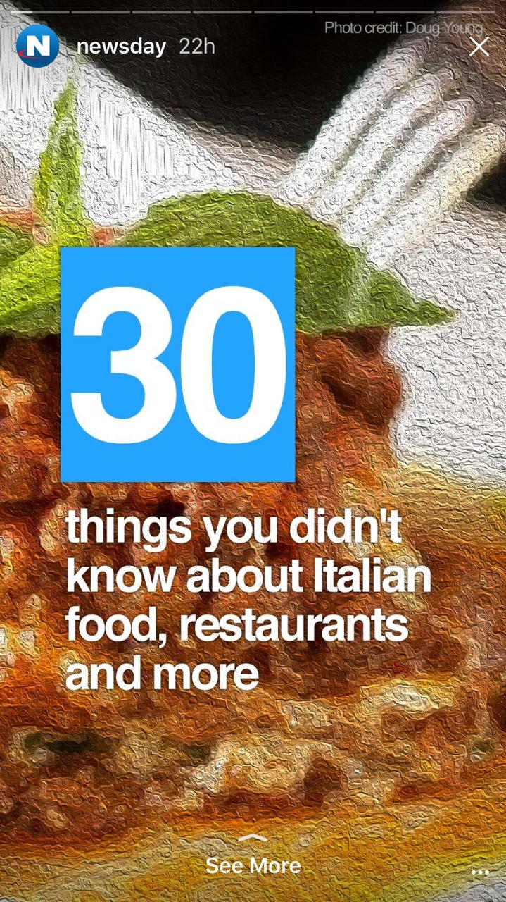Restaurant Instagram Story