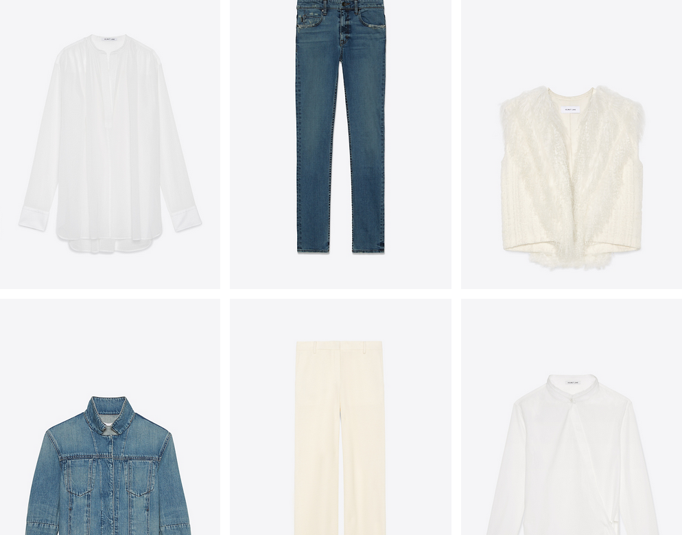 From the Helmut Lang website.