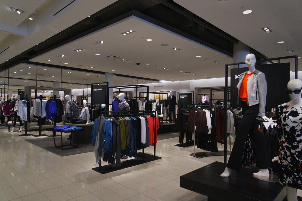 Studio 121 and Individualist departments at Nordstrom Del Amo Fashion Center