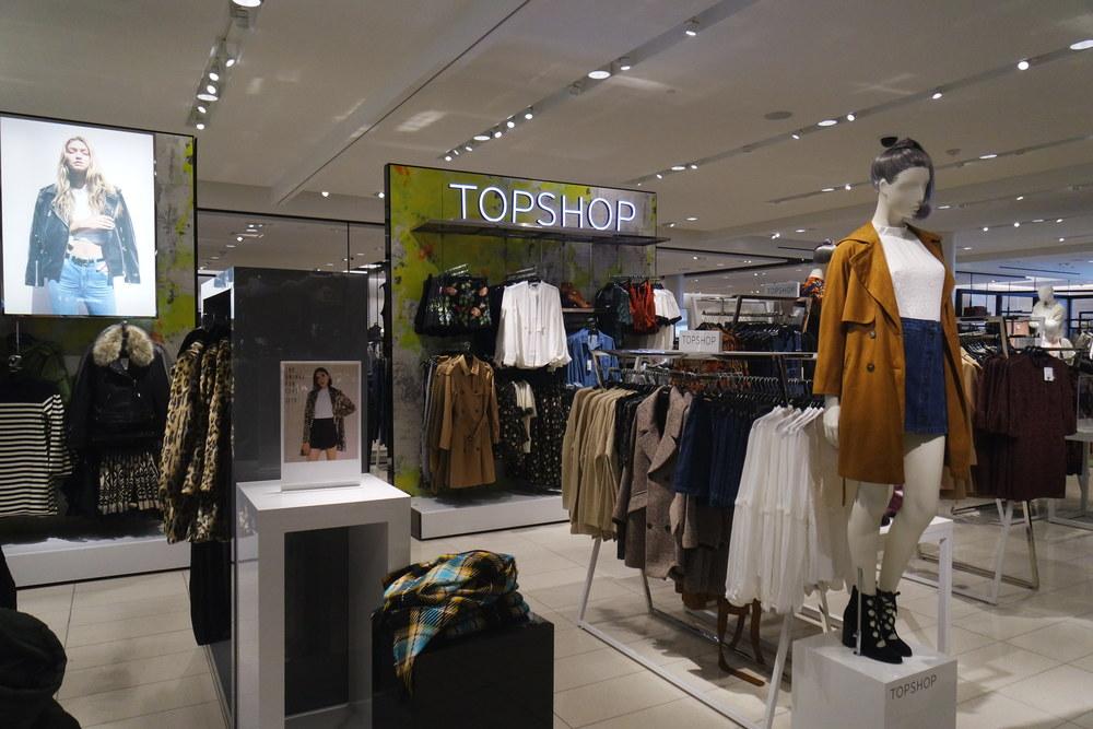 Topshop at Nordstrom Del Amo Fashion Center