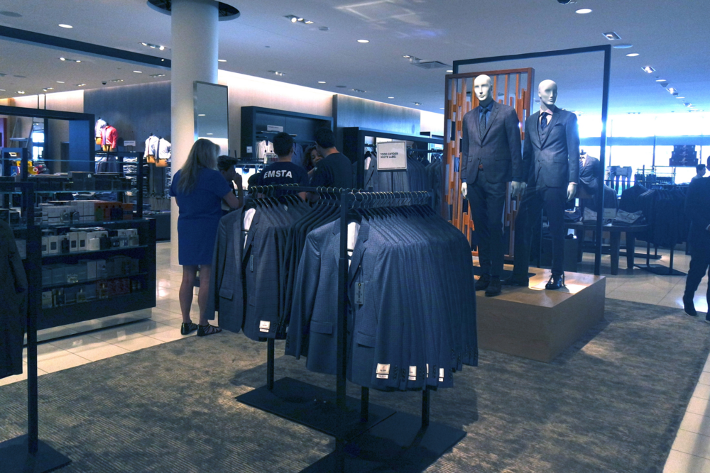 Men's Department at Nordstrom Del Amo Fashion Center
