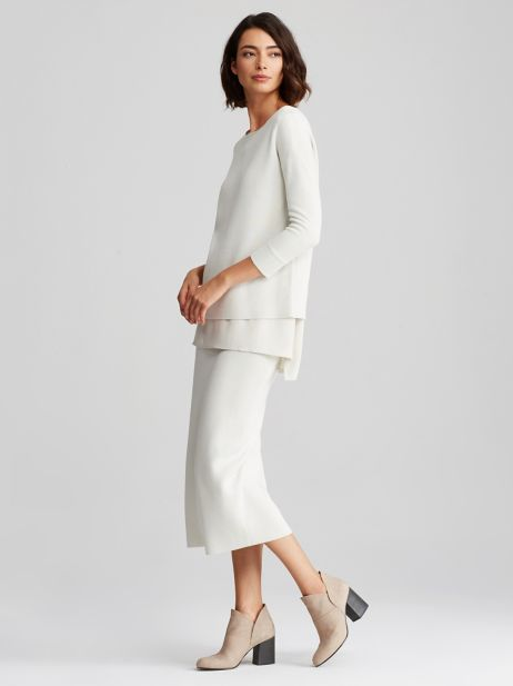 From  Eileen Fisher , a trusted source for natural fabrics & relaxed fits.