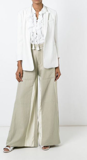 Showing  Chloe linen trousers  from Farfetch.com