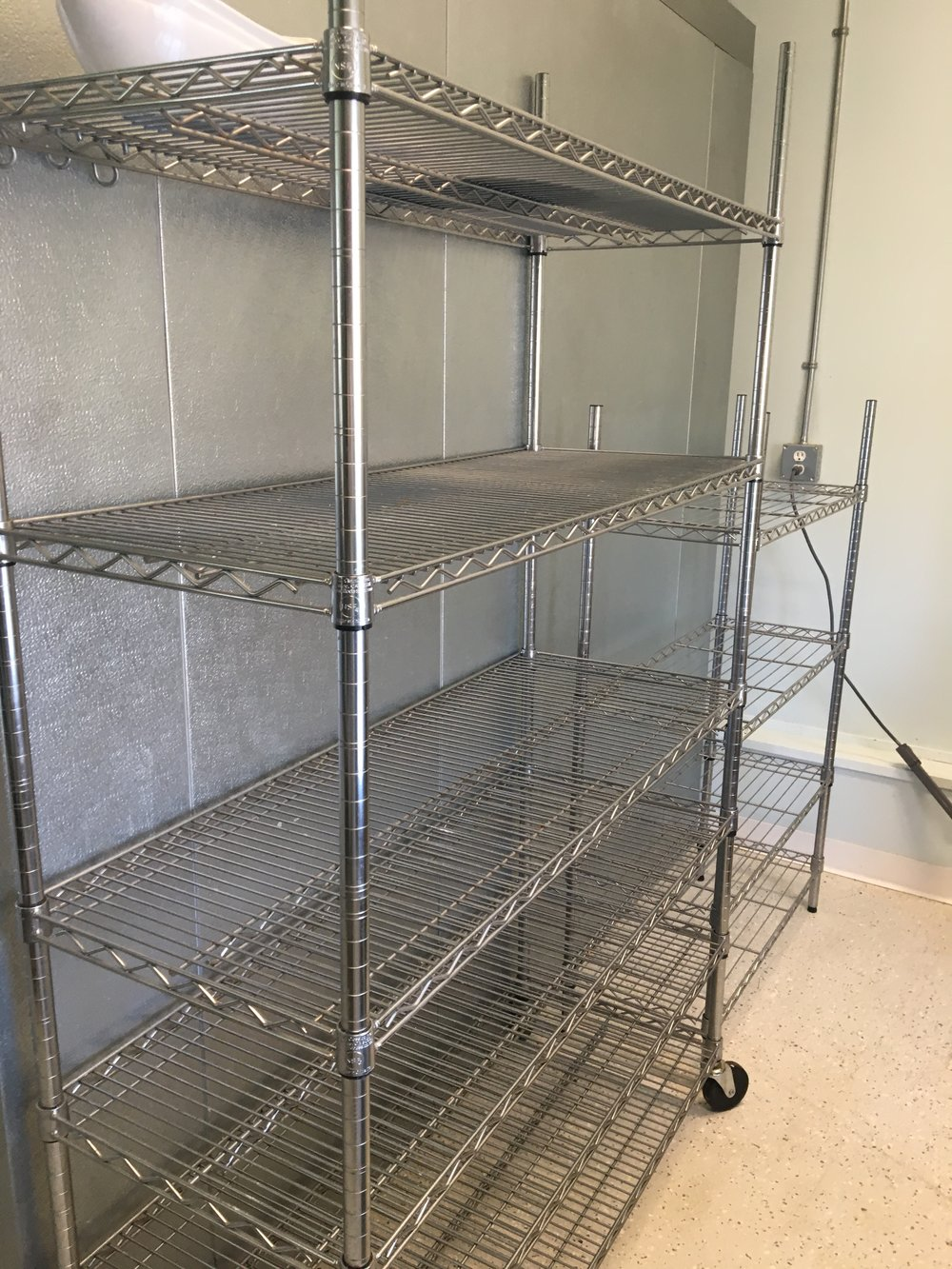 Storage and Cooling Racks