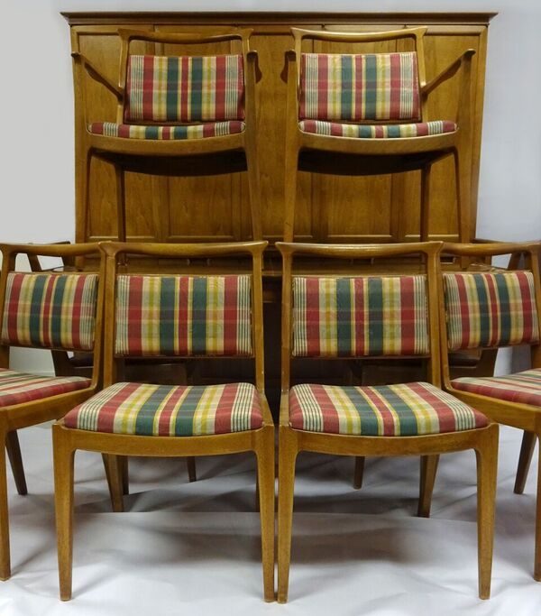 A Very Rare Entire Set of Mid-Century Modern Mt. Airy Dining Room Set