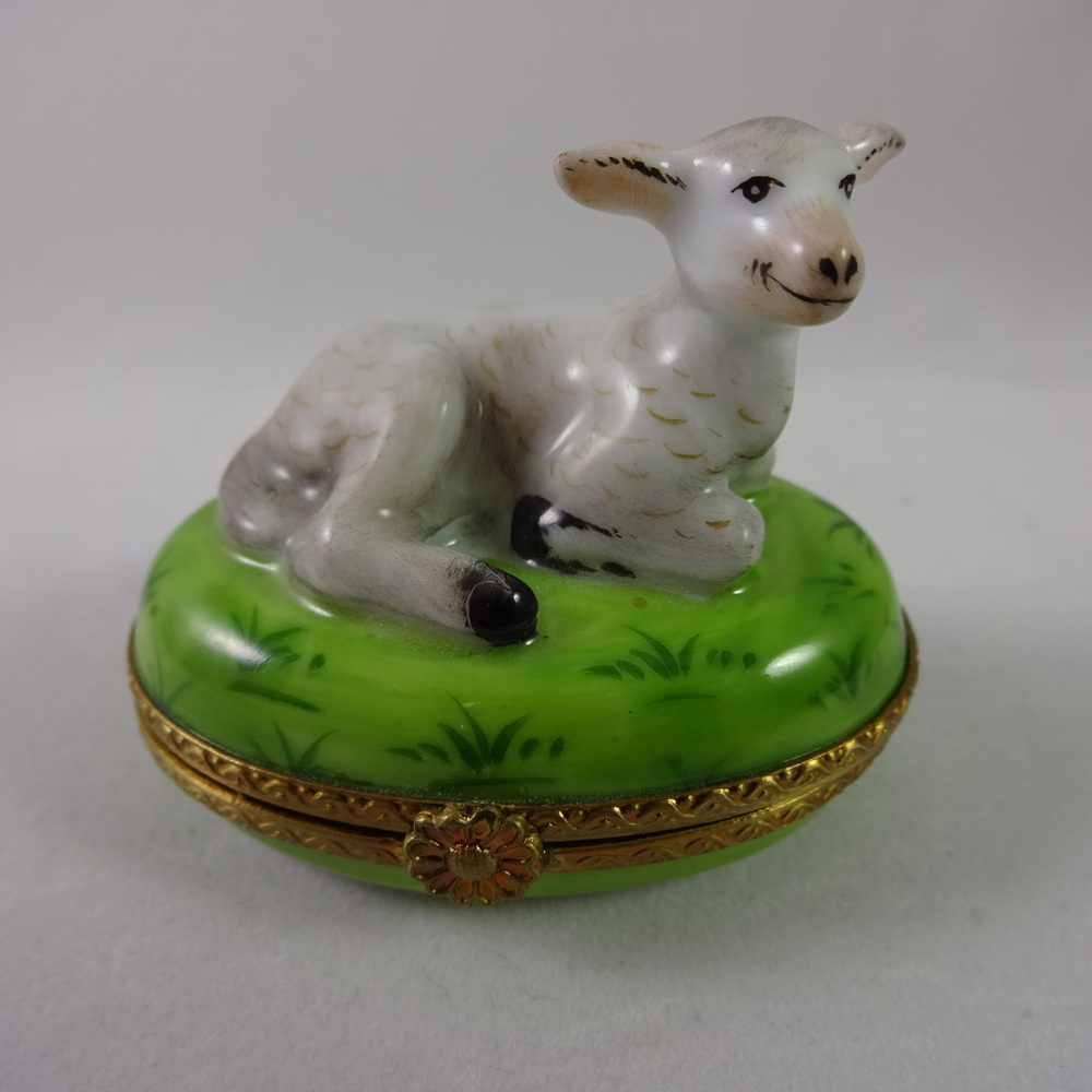 French Limoges Trinket Box