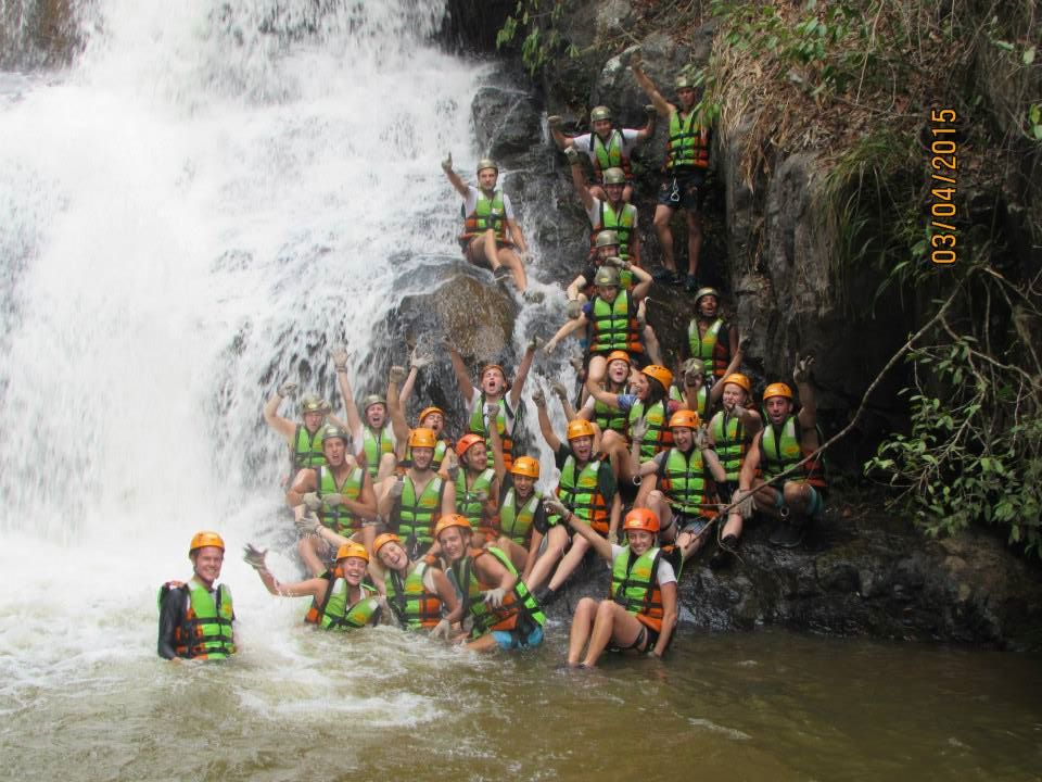 Group picture of my canyoning group
