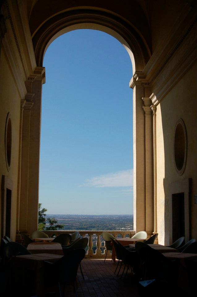 Onsite restaurant (with a view) at Villa d'Este