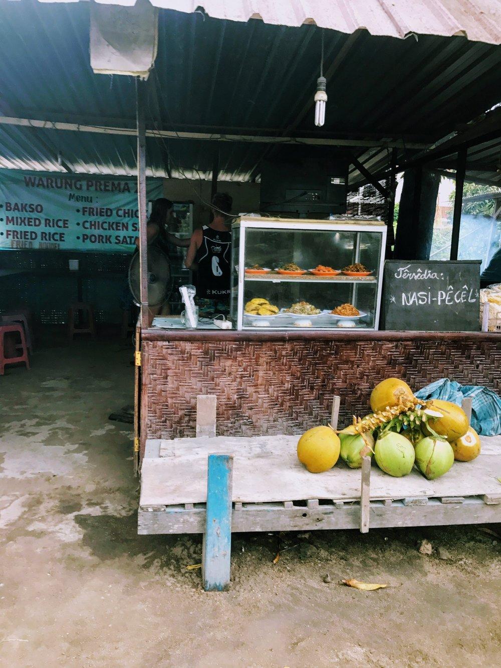 Dining on Nusa Lembongan
