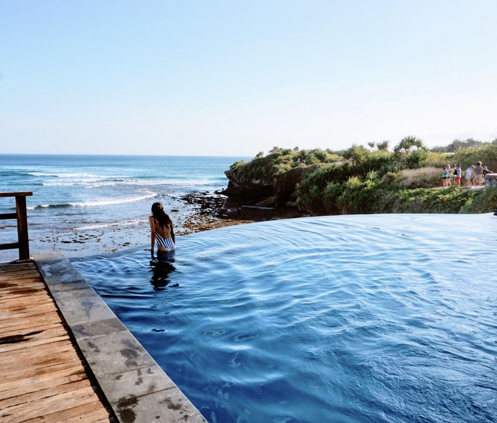 Why You Need to Visit the Nusa Islands: Dream Beach Infinity Pool