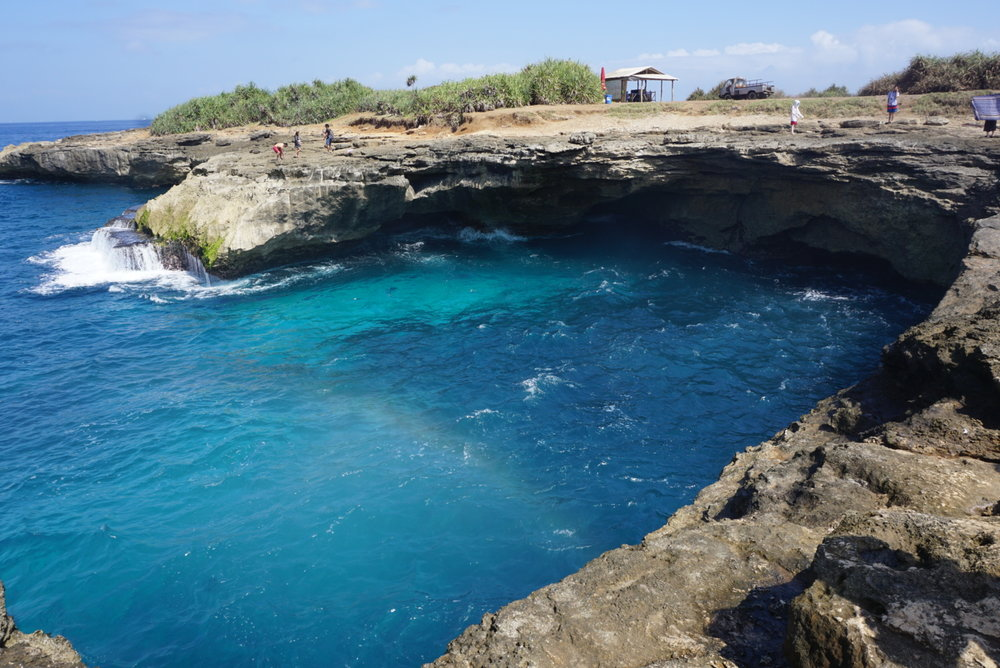 Why You Need to Visit the Nusa Islands: Rainbow at Devil's Tear