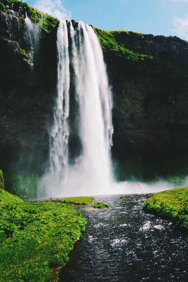 Seljalandfoss-Waterfall