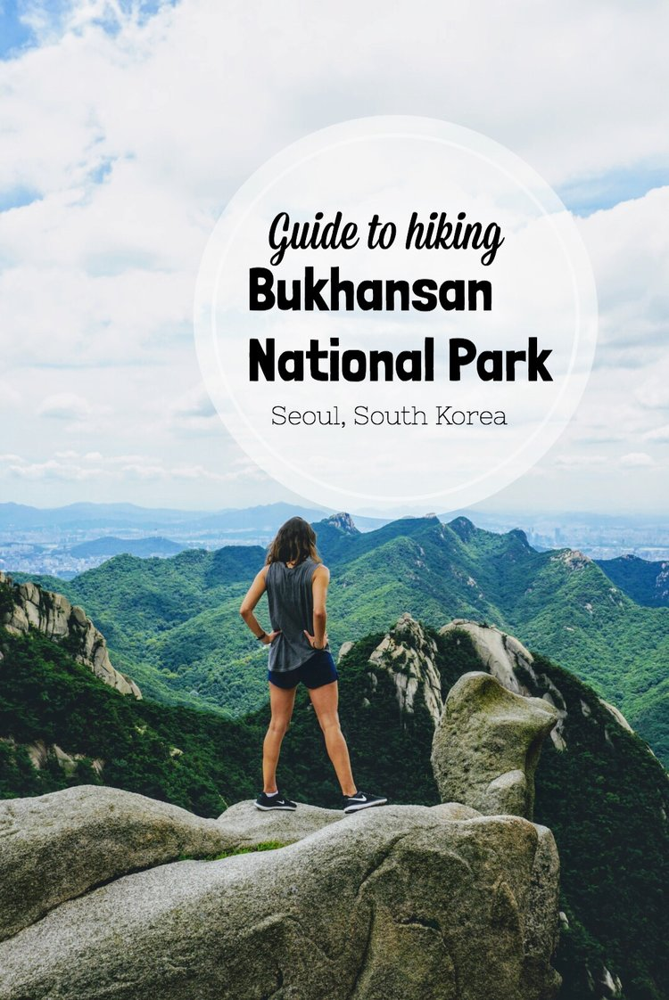 hiking in bukhansan national park