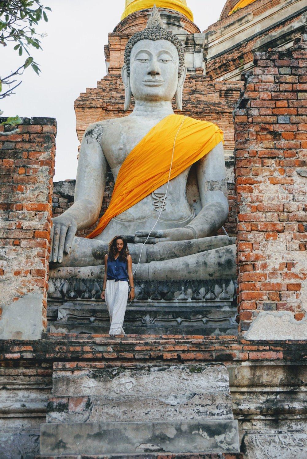 Day trip to Ayutthaya - Visiting Wat Yai Chai Mongkhon