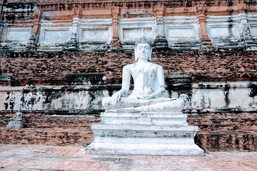 Wat Yai Chai Mongkhon in Thailand : Day trip to Ayutthaya