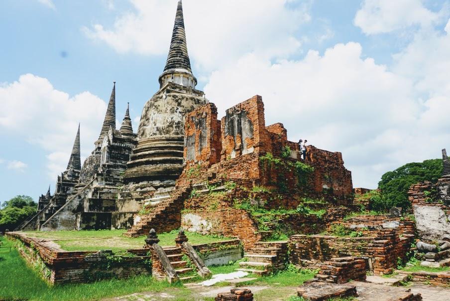 Exploring Wat Phra Si Sanphet in Ayutthaya Thailand