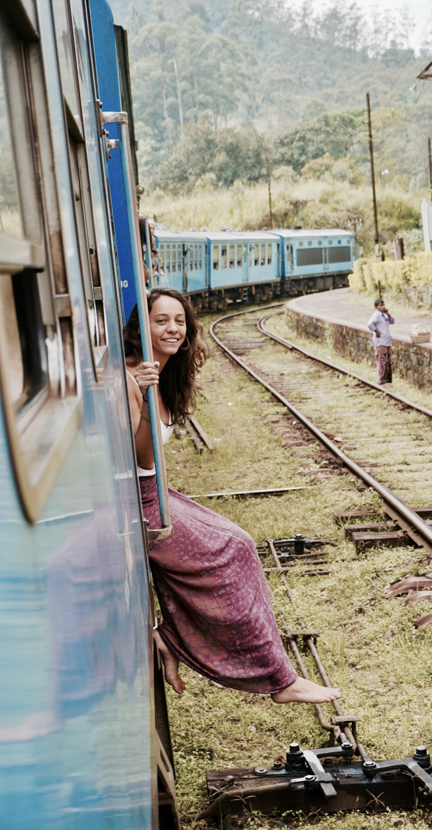 Scenic train ride in Sri Lanka Itinerary