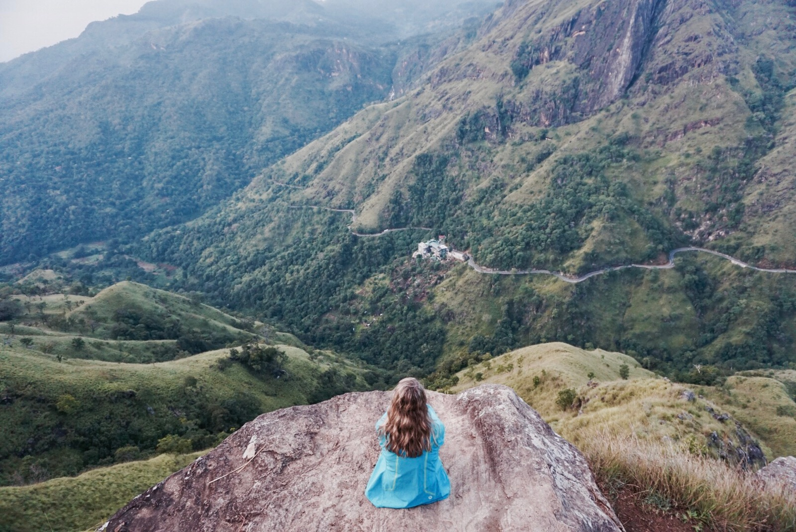 little adam's peak hike in sri lanka