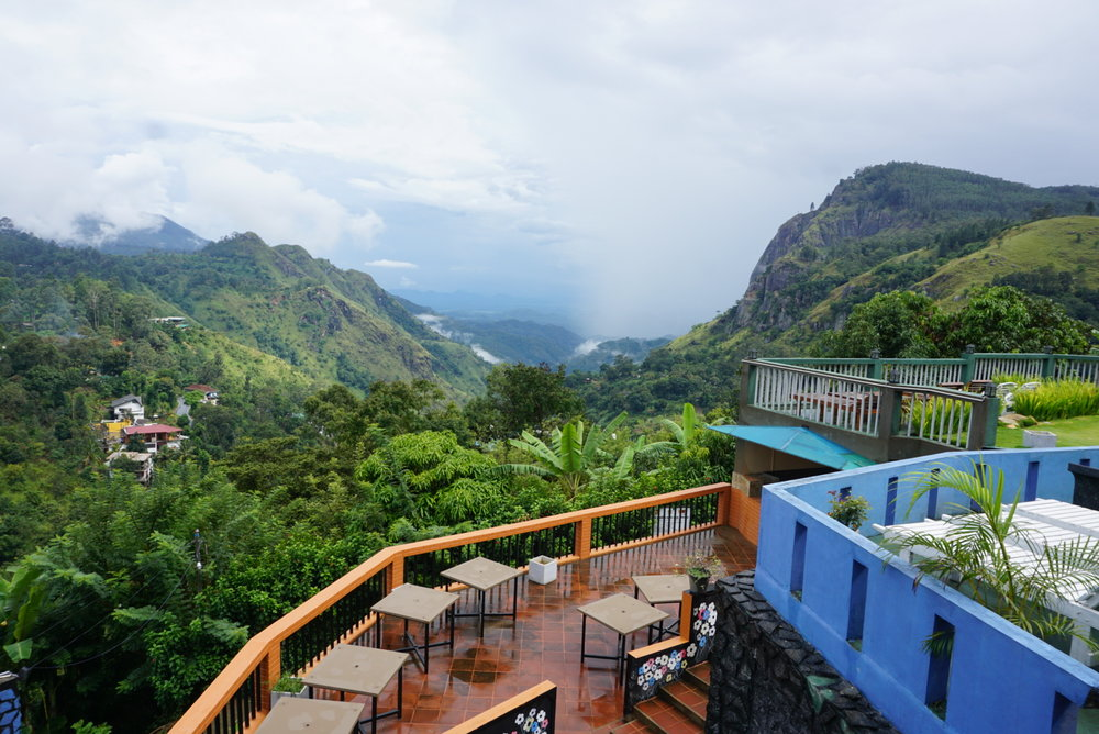The View Hotel in Ella, Sri Lanka - incredible place to stay for 2 weeks in sri lanka itinerary