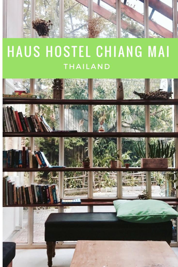 Haus Hostel, Chiang Mai, Thailand, best hostels