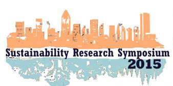 Logo for the 2015 edition of the McGill Sustainability Research Symposium