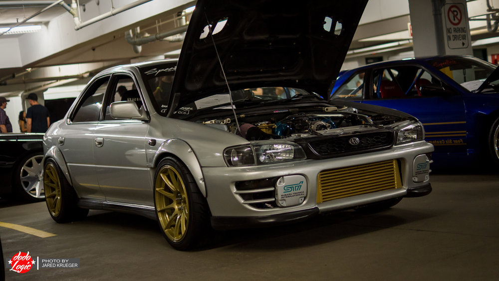 Tyson's GC8 Subaru STI RWD conversion