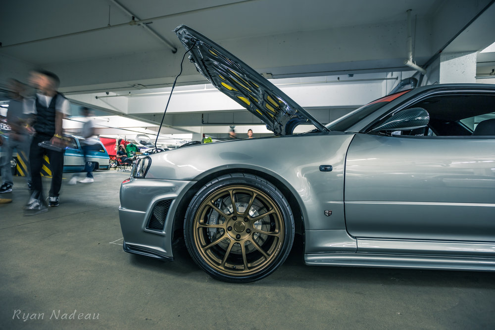 Best Skyline: BNR34 Nissan Skyline GTR. Owner: Ross